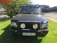 Land Rover discovery 4x4 jeep 2003 td5 diesel automatic 7 seater full leather drives excellent