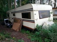 Large Caravan Requiring Refurbishment