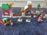 Fisher Price Little People Christmas Village Set