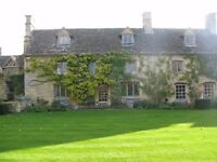 Temporary Housekeeper/Cook Needed - Cotswold village of Swinbrook - Start Monday 10th April 2017