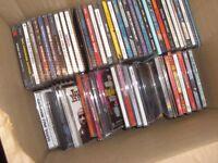 Job Lot/Bundle of 57 CD's, mainly albums, few singles.