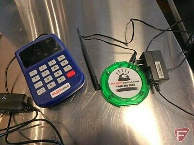 Used Pager Genius 30 Restaurant Coaster Pagers Complete Paging System