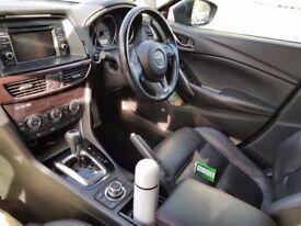 Mazda 6 skyactiv auto diesel estate sport