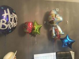 Helium balloons toy story