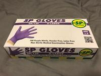 SP Services XL Gloves - 1 new box, 1 opened box but unused