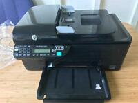 HP Officejet 4500 printer / scanner with replacement ink cartridges