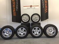 "RANGE ROVER VOGUE / SPORT / P38 18"" ALLOY WHEELS X 4 WITH TYRES L322"