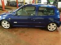 Clio rs 172 monaco blue