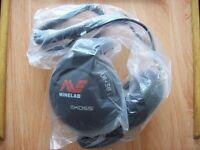 """Metal Detector Koss UR 30 Headphones """" new unused"""""""