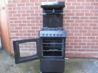 Gas Cooker, 50cm wide Parkinson Cowan cooker with eye level grill, £65