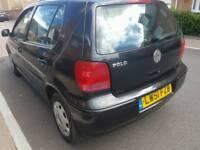 VW POLO ,1.4 ,LONG MOT, SERVICE HISTORY ,CHEAP ON TAX AND FUEL ,TIDY £645 ONO