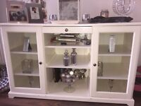 White Side Board Table £120 Good Condition