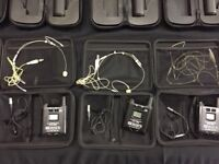 5 sets of Line6 wireless microphones to sell