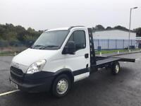 Iveco daily recovery truck fresh build (2013) plate