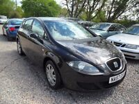 2007 SEAT LEON 1.6 REFERENCE---5 DOOR----LONG MOT---ONLY 77K MILES---MANUAL