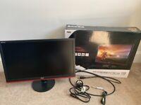 As New Boxed AOC G2260VWQ6 22inch Freesync 75hz Gaming Monitor
