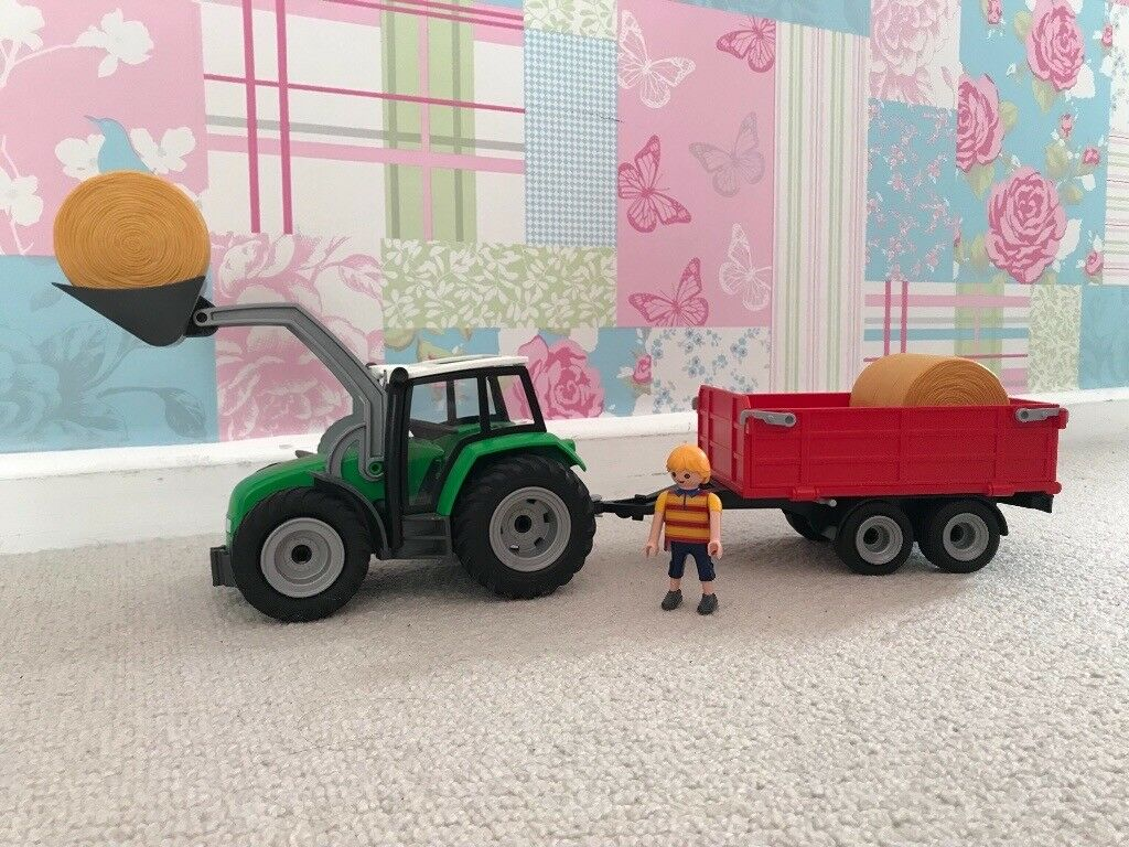 Playmobil Large Tractor with Trailer 6130 LEGO Baukästen & Sets