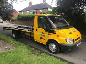 Ford transit T430 125bhp recovery truck low miles immaculate condition