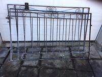 Very heavy old gates