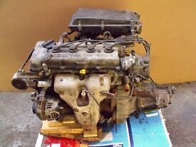 Nissan Almera Engine and Gearbox, 1996 to 1999