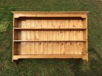Solid Pine Wall Shelves Rack shelving 3 Tier