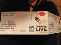 Reginald D Hunter - 2 tickets - Corn Exchange, Cambridge - May 28th, 8pm
