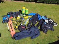 Full diving set