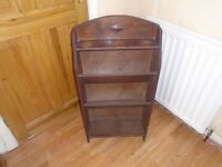 antique magazine / paper rack
