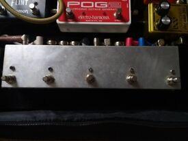 5-Channel Programmable Pedal Looper