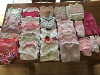 Baby Girl Clothes Bundle 0-3 months old