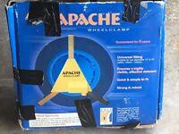 Apache wheelclamp