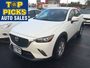 2016 Mazda CX-3 GS, AWD, LEATHER, SUNROOF, NAVIGATION, ALLOY WHE