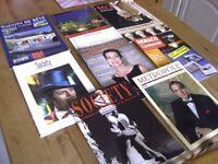 Magazines & Brochures x 9. Society x 2 '94 '96, Metropole Magazine '97, Monaco Actualite no. 67 '97
