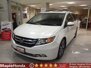 2014 Honda Odyssey Touring|Navigation,Leather,DVD Player,8 Passe