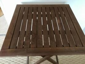 Ikea garden table & chairs