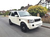 land rover discovery 3 TDV6 2.7 AUTO WHITE