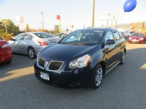 2009 Pontiac Vibe Low kms, OnStar Equipped