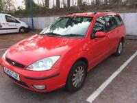 2003 FORD FOCUS 2.0 ESTATE, NEW MOT OCTOBER 2018, ONLY 70,000 MILES, SERVICE HISTORY