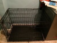 Dog crate for sale good condition