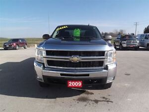 2009 Chevrolet SILVERADO 2500HD LT,DIESEL,CREW,SHORT,4X4,142 KM! Kitchener / Waterloo Kitchener Area image 3