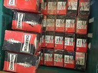 Big box of spark plugs