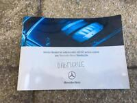 Mercedes Benz duplicate service book