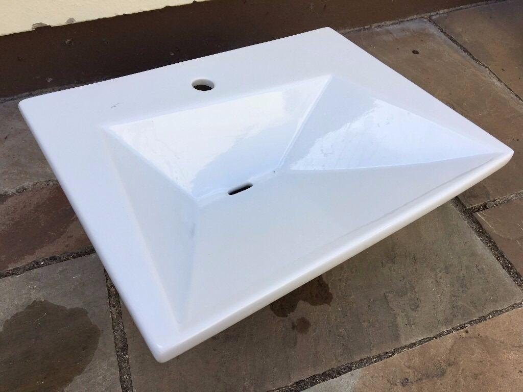 Bathroom Sinks Homebase designer bathroom sink (homebase) | in ringwood, hampshire | gumtree