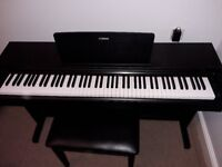 Digital Piano-Yamaha YDP143B in excellent condition