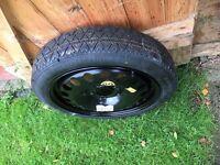 'Get you home' spare wheel