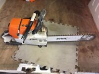 Stihl GS461 concrete chainsaw