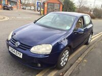 VW GOLF 2.0 GT TDI DIESEL AUTOMATIC 2005 FULL HISTORY CREAM LEATHERS VERY CLEAN RECENTLY SERVICED