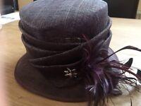 ladies wedding hat