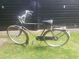 Dutch Union Mens Bike Vintage Retro Brooks Saddle Beige