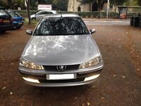 PEUGEOT 406 AUTO GTX PETROL ENGINE EW10 - FINISHED IN METALLIC SILVER